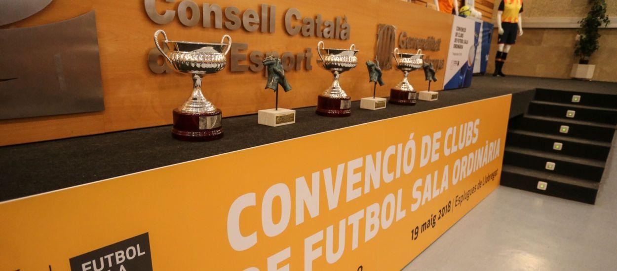 Tot a punt per a la celebració de la Convenció Ordinària de Clubs de Futbol Sala