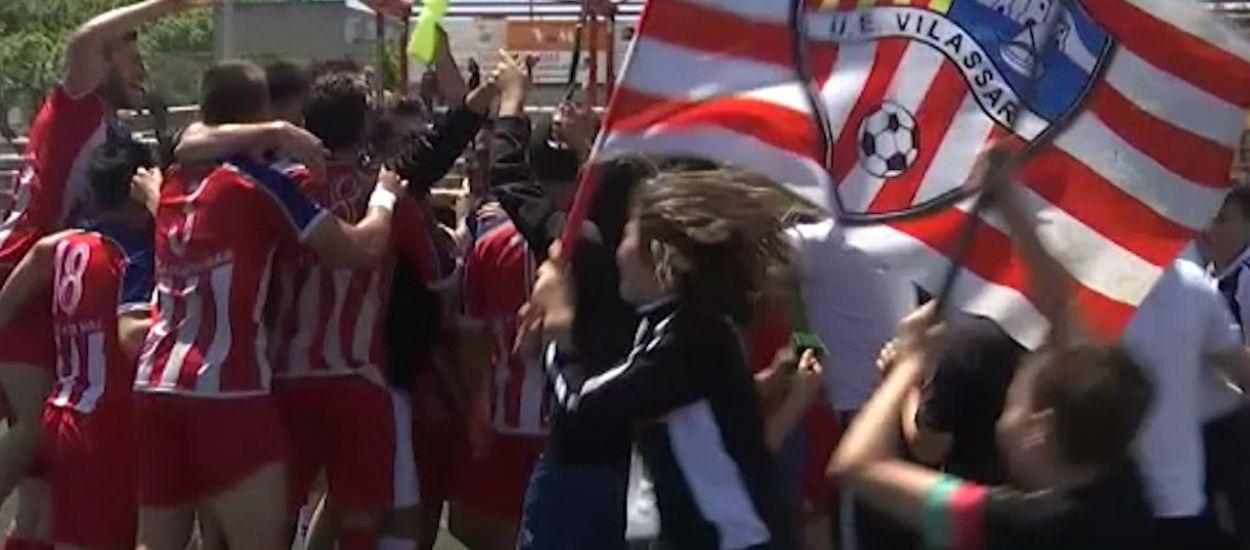 Resum i gols de la jornada 32 de Primera Catalana (Grup 1 i 2)