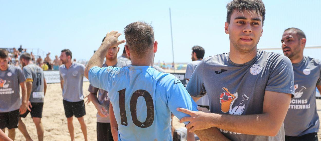 Salou acollirà aquest cap de setmana la segona etapa de la Lliga Nacional de futbol platja