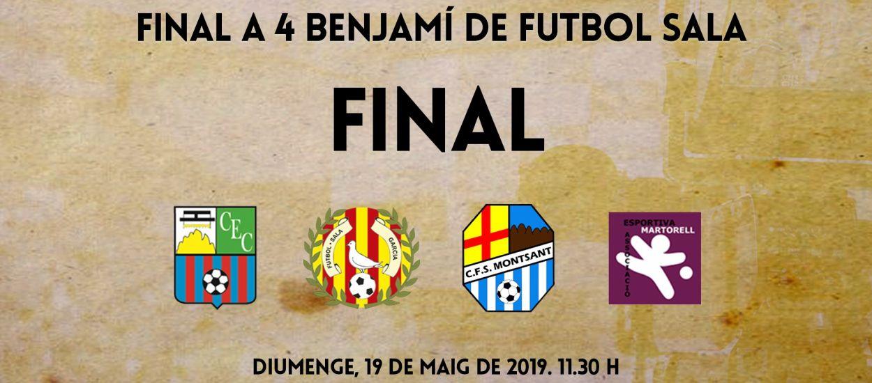 L'LCFS en directe: Final a 4 del Campionat de Catalunya Benjamí