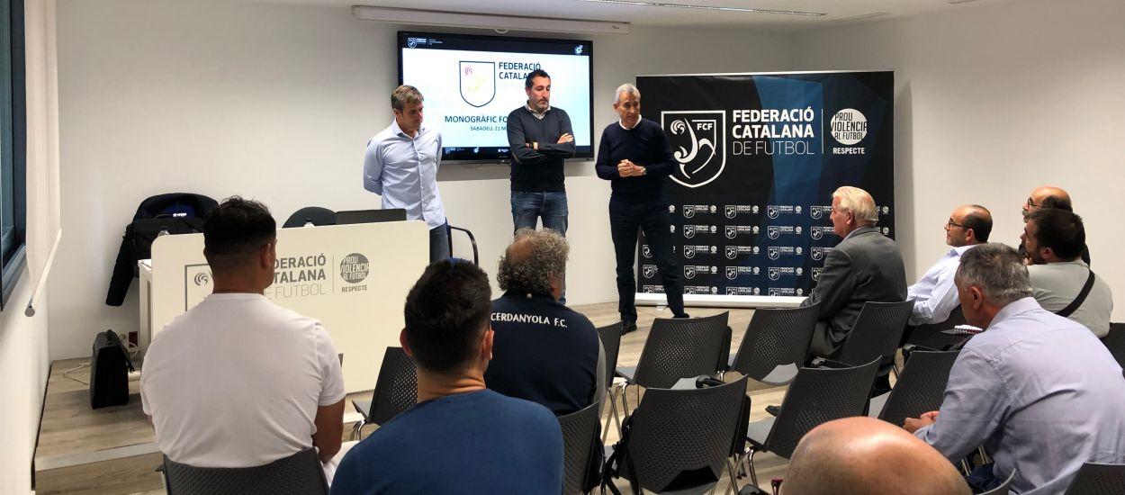 Celebrada una sessió formativa del CTE i l'Escola d'Entrenadors a Sabadell