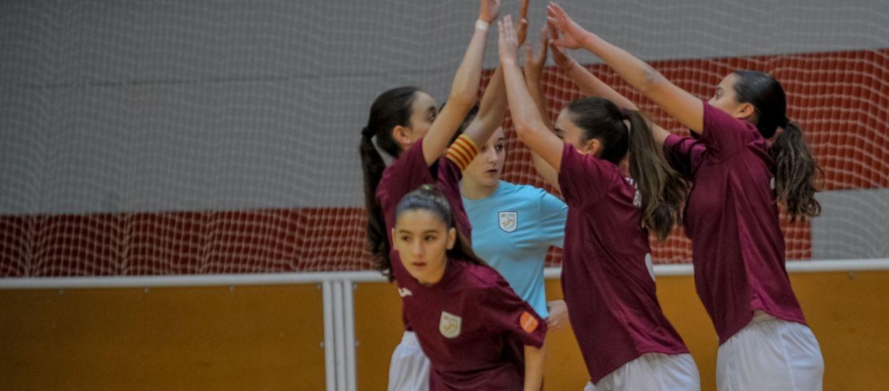 Tarragona organitza la seva Jornada de promoció del futbol sala femení