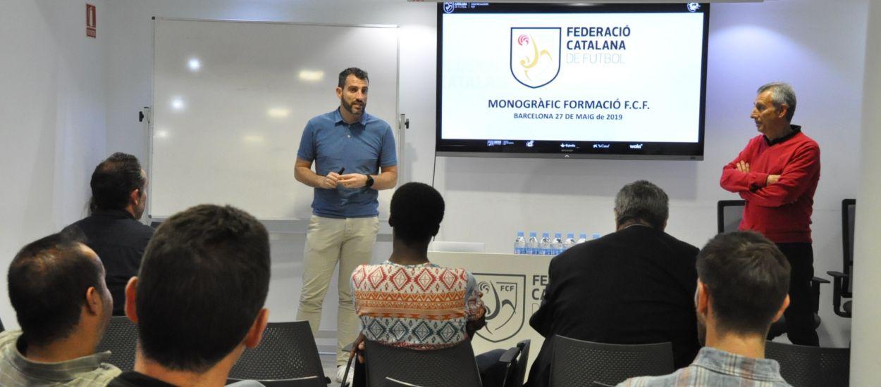 La delegació de Barcelona acull una sessió formativa del CTE i l'Escola d'Entrenadors