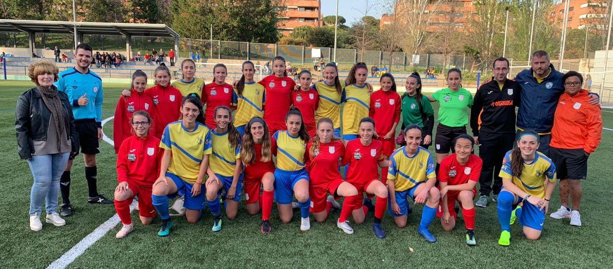 Quart entrenament de la Selecció sub 14 femenina del Baix Llobregat