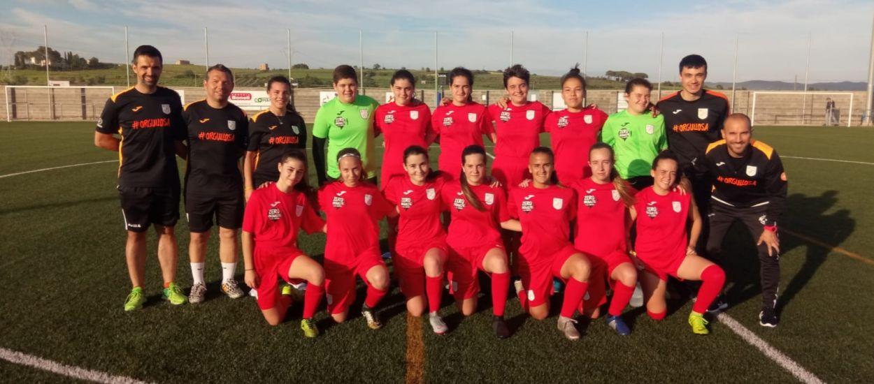 Nou entrenament de la selecció sub 17 femenina del Penedès-Garraf