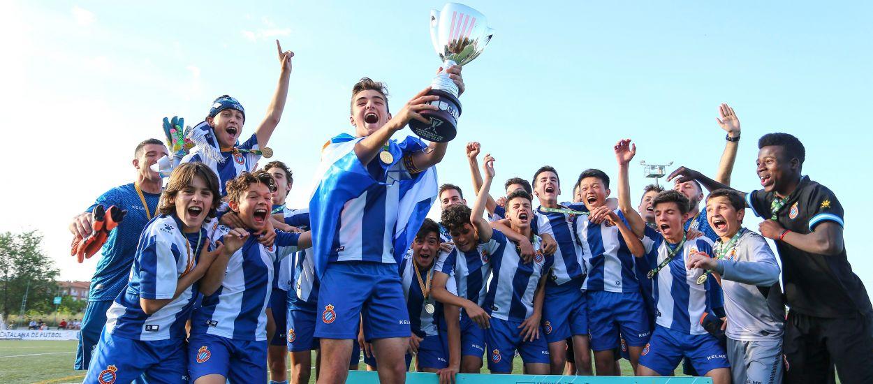 L'Espanyol supera amb claredat el Girona i es proclama campió Infantil Masculí