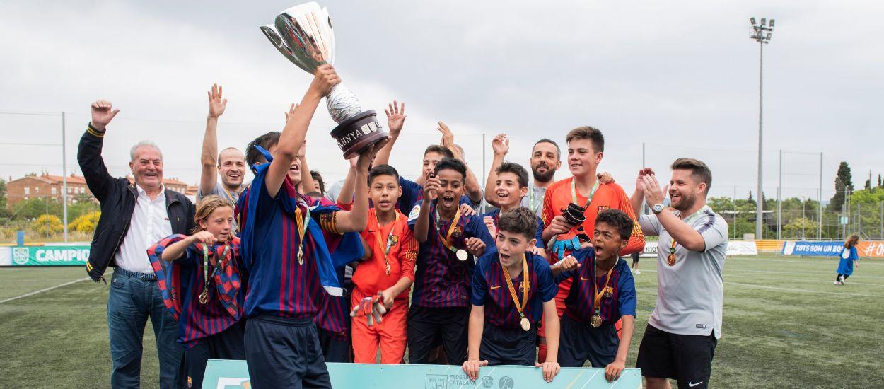 El Barça conquista el Campeonato de Catalunya Alevín masculino
