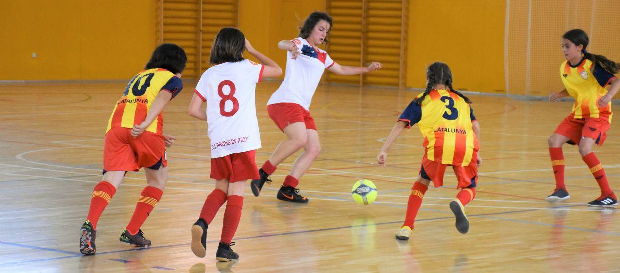 Victòria sòlida de Catalunya Aleví femenina per posar el punt final a la temporada