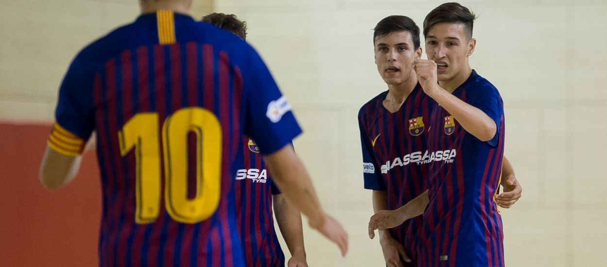 El Barça Lassa Juvenil es proclama subcampió de la Copa d'Espanya