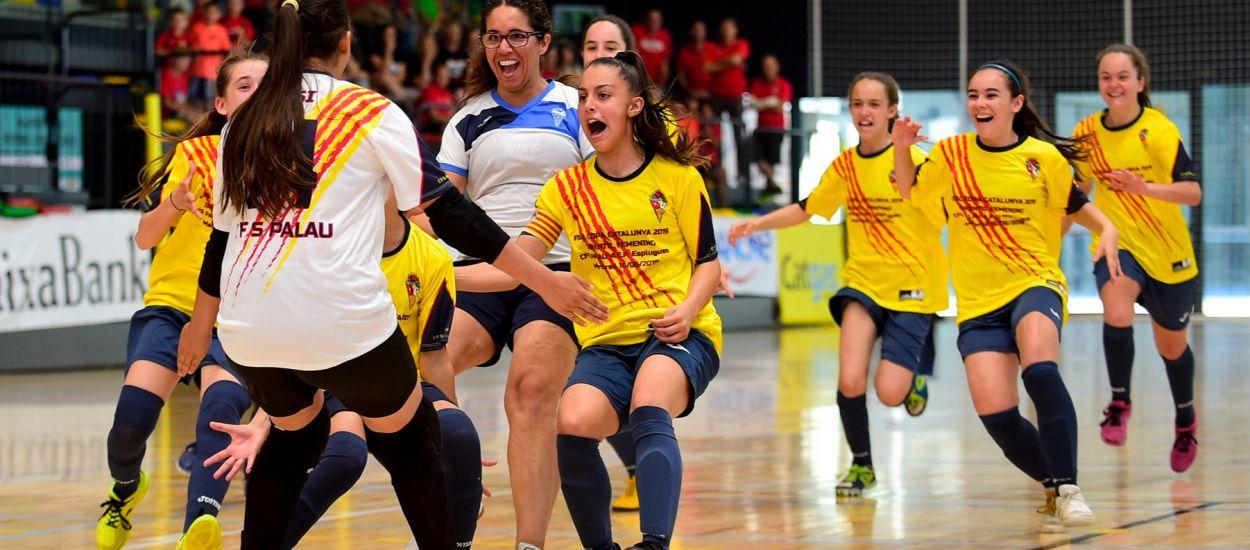 Victòria palauenca en la final Infantil femenina de la Copa Catalunya