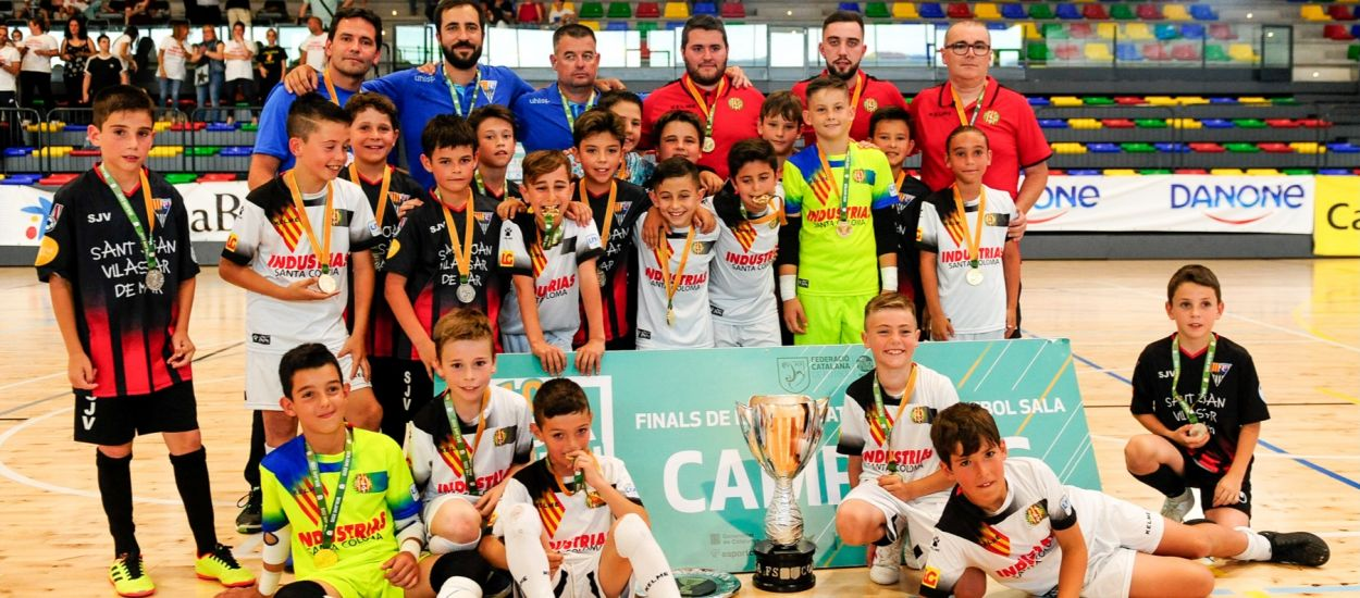 L'Industrias Santa Coloma Benjamí es matricula amb la Copa Catalunya