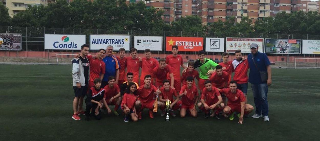 El Sant Genis-Penitentes 'B', campió de la Copa Barcelonès 2019