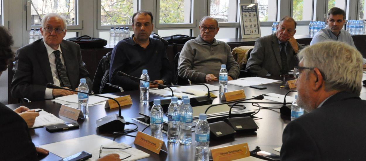 Reunió i cloenda de temporada de la Comissió d'Ètica Esportiva i Lluita contra la Violència
