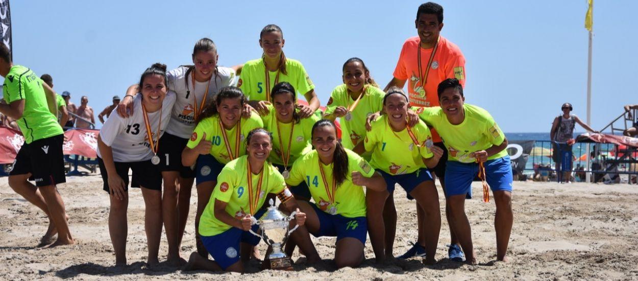 El Roses Platja es proclama subcampió de la Copa RFEF de futbol platja