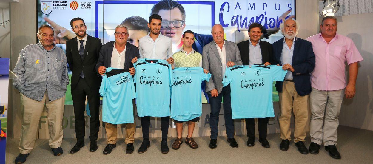 Presentat el 1r Campus Campions de la mà de la Fundació de l'FCF