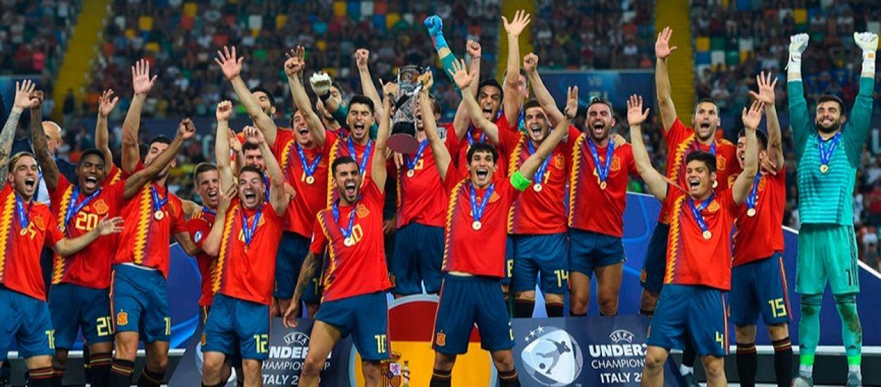 Quatre catalans es proclamen campions d'Europa sub 21