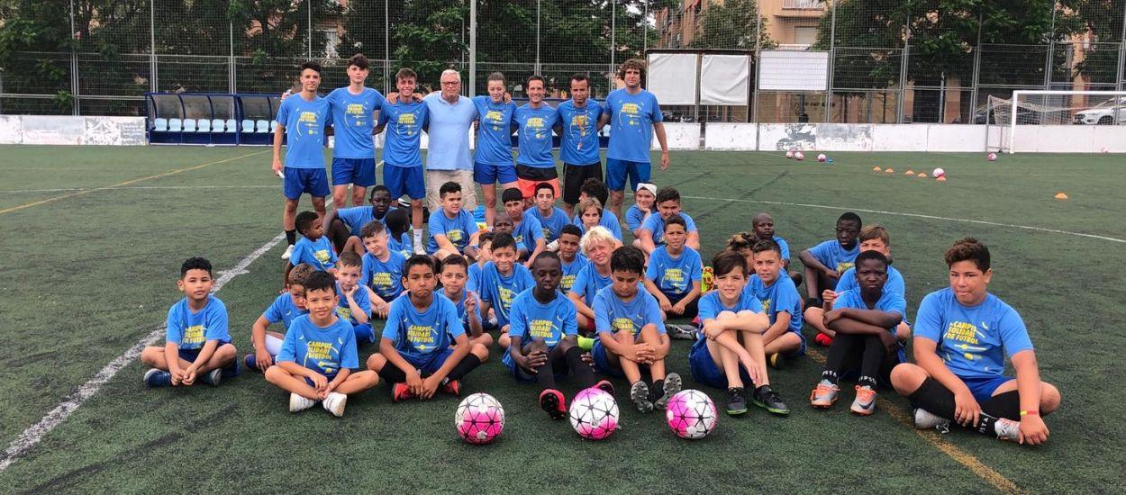 Tret de sortida al Campus Solidari de Futbol de la Fundació de l'FCF
