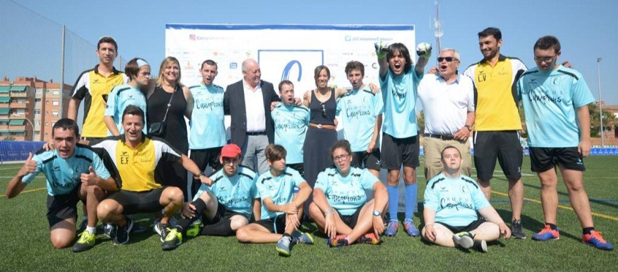 El president de l'FCF visita el Campus Campions