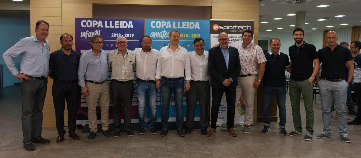 Presentades les Copes Lleida Amateur i Infantil