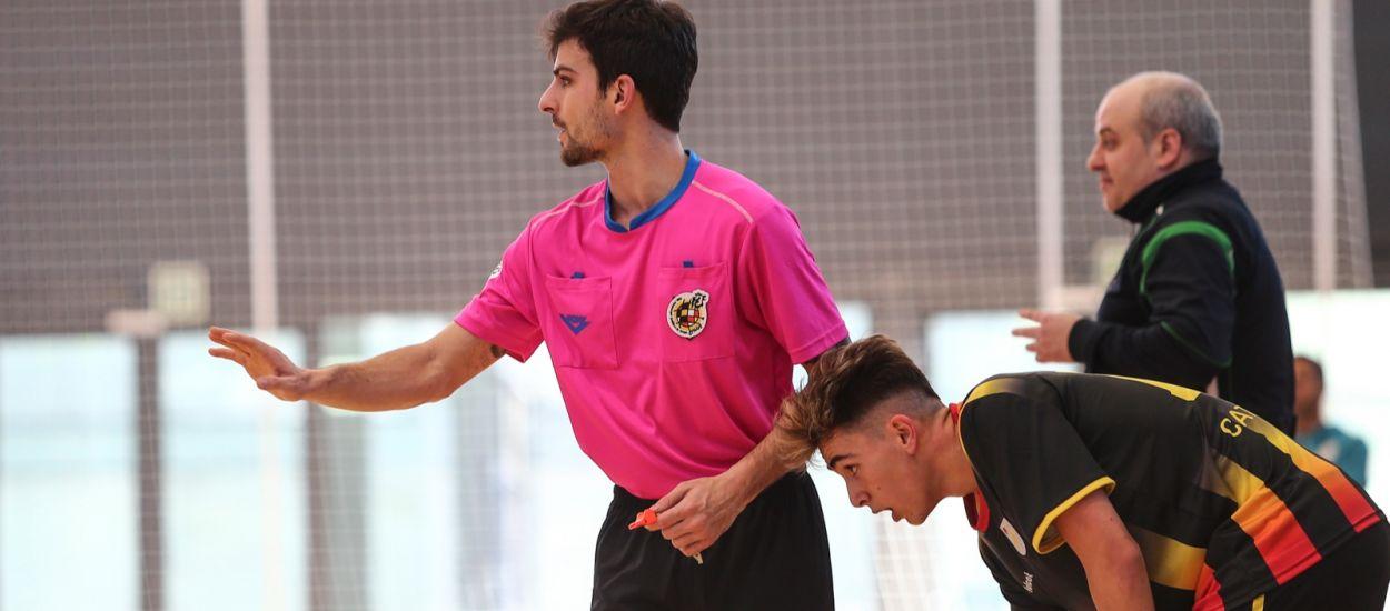 Ascenso del árbitro catalán Brian Torquemada a 2ª División Nacional de Fútbol Sala