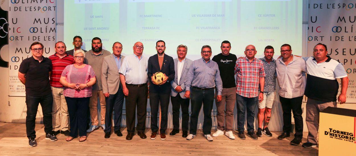L'FCF assisteix a la presentació i el sorteig de la 34a edició del Torneig d'Històrics