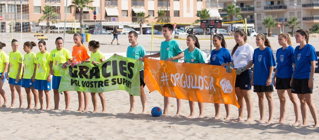 El futbol platja femení i juvenil català se citen a Torredembarra