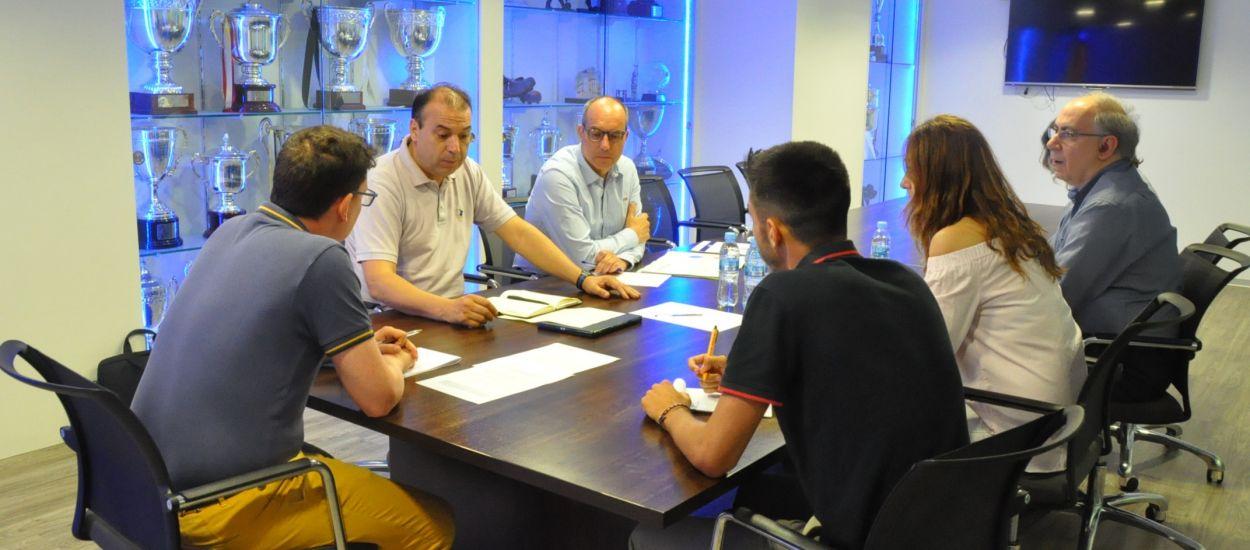 Reunió entre l'FCF i els Mossos d'Esquadra per valorar la temporada