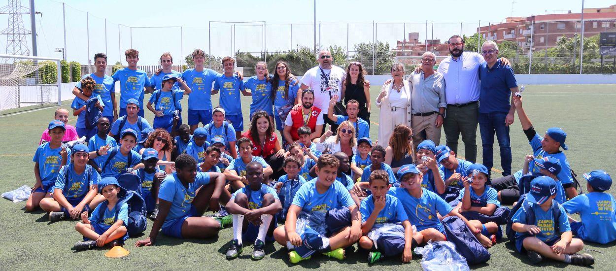 Conclou el Campus Solidari de Futbol de la Fundació de l'FCF