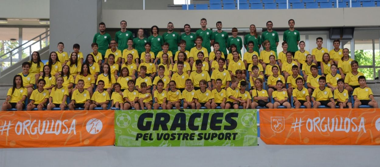 Inici amb visita sorpresa en el 1r Campus de Futbol Sala de l'LCFS