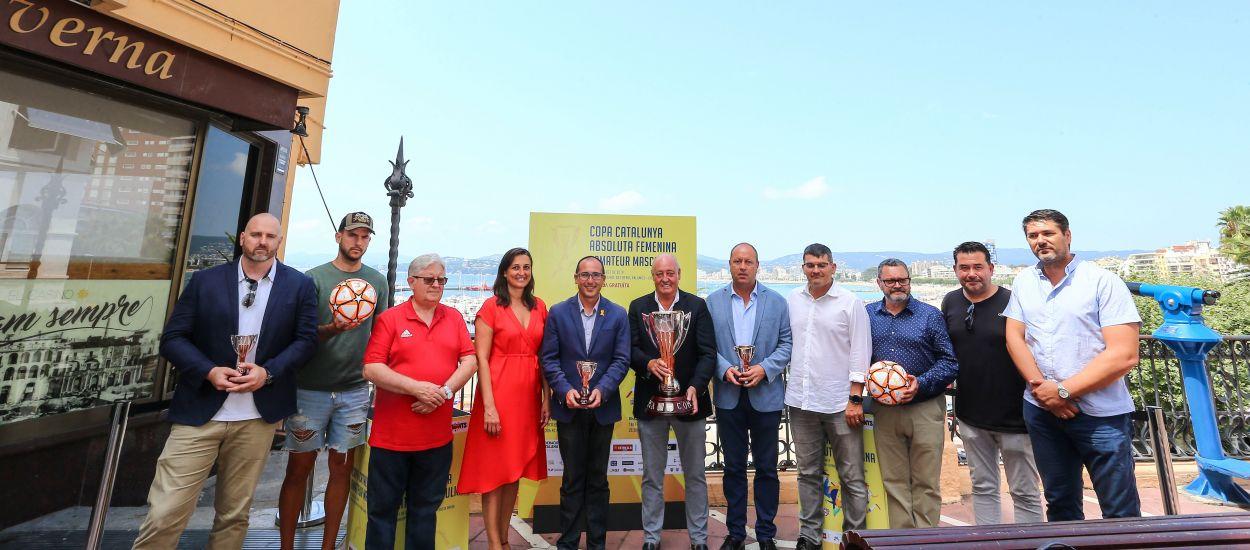Presentades les fases finals de la Copa Catalunya Femenina i Amateur a Palamós
