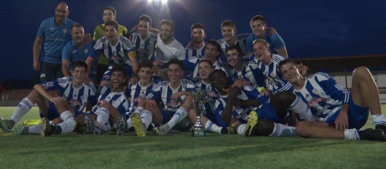El CF Organyà es proclama campió de la Copa Pirineus