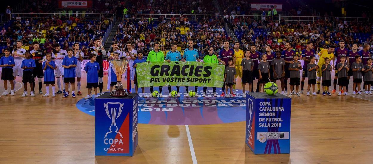 Designats els àrbitres de la copa catalunya sènior de futbol sala