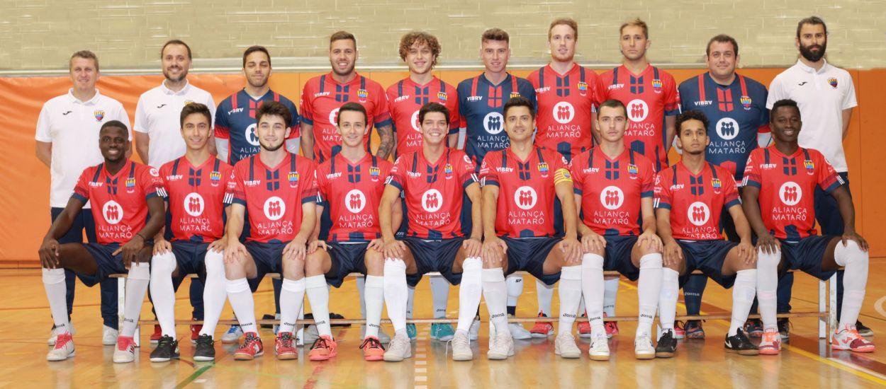 El Futsal Mataró, en la fase final de la Copa Catalunya Senior de fútbol sala 10 años después