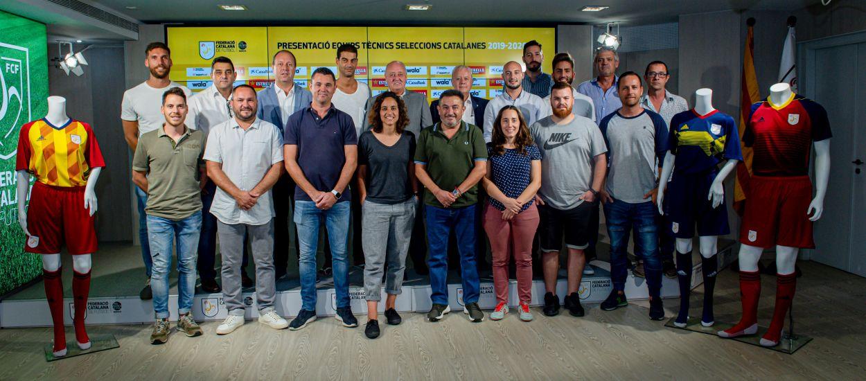 Presentats els seleccionadors i seleccionadores catalans de la temporada 2019-2020
