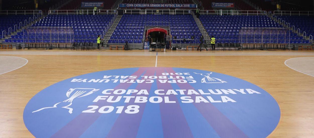 Entrades gratuïtes i necessàries per a cada partit de la Copa Catalunya Sènior de futbol sala