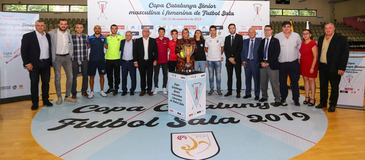 Inaugurada la Copa Catalunya Sènior de futbol sala