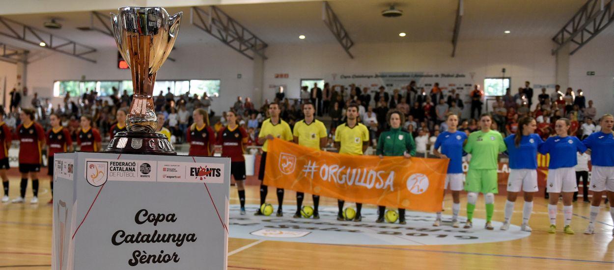 El Industrias Santa Coloma hace historia y el AE Penya Esplugues suma la cuarta Copa Catalunya Senior consecutiva