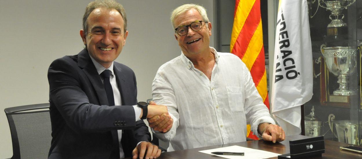 La Fundació de l'FCF i l'Obra Social La Caixa signen un conveni de col·laboració