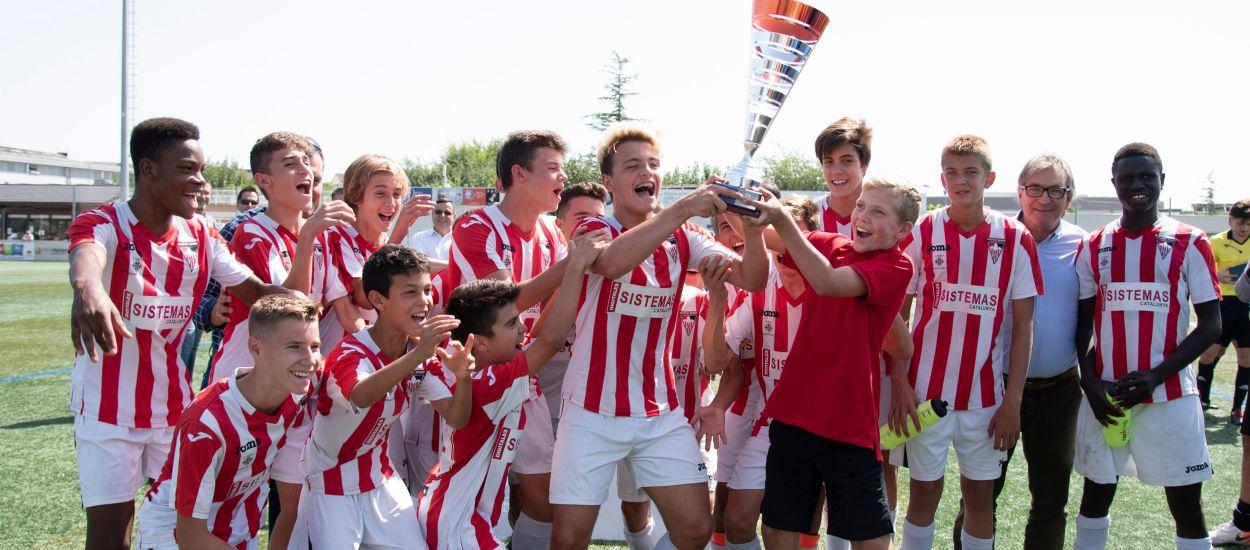 L'Atlètic Segre, quatre cops campió de la Copa Lleida Infantil