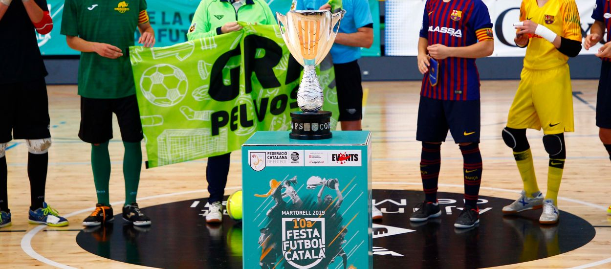La Copa Catalunya de Fútbol Sala ya tiene abiertas las inscripciones de participación