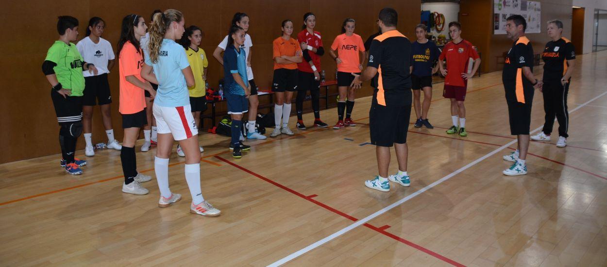 Comencen a rodar les Seleccions Catalanes sub 16 i sub 19 femenines de futbol sala