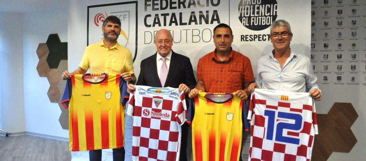 L'Atlètic Club Sant Pol presenta els actes del seu centenari a l'FCF