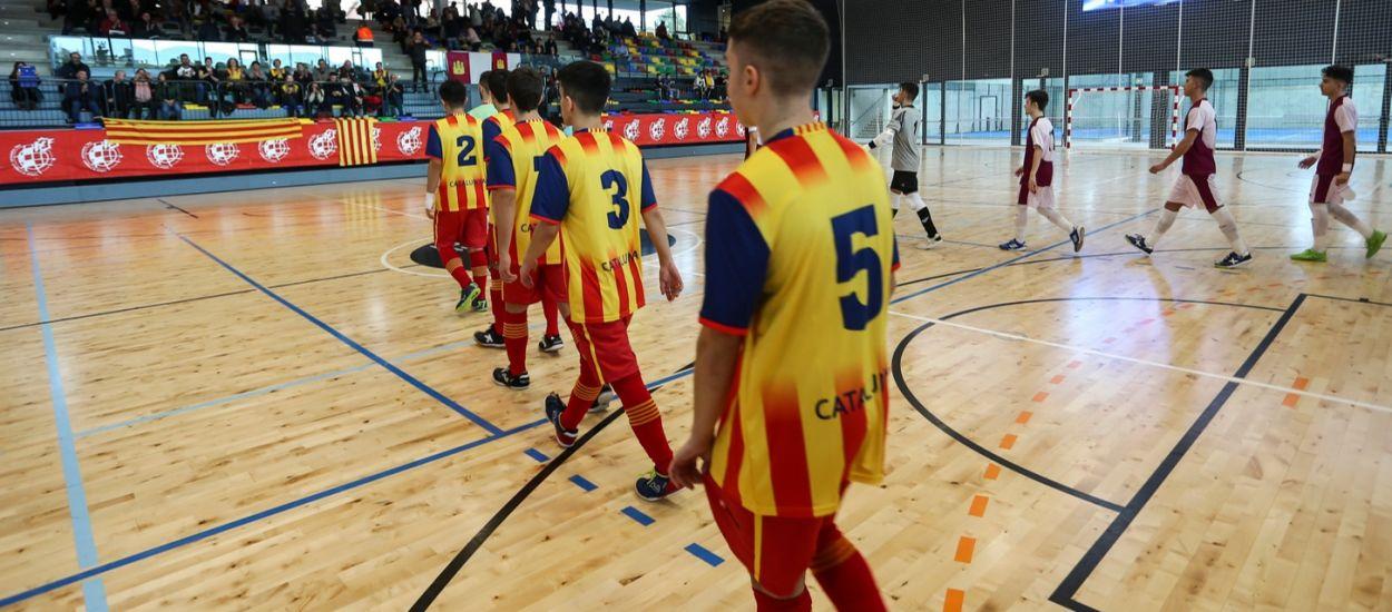 Catalunya ja coneix els rivals pels Campionats d'Espanya de Futbol Sala