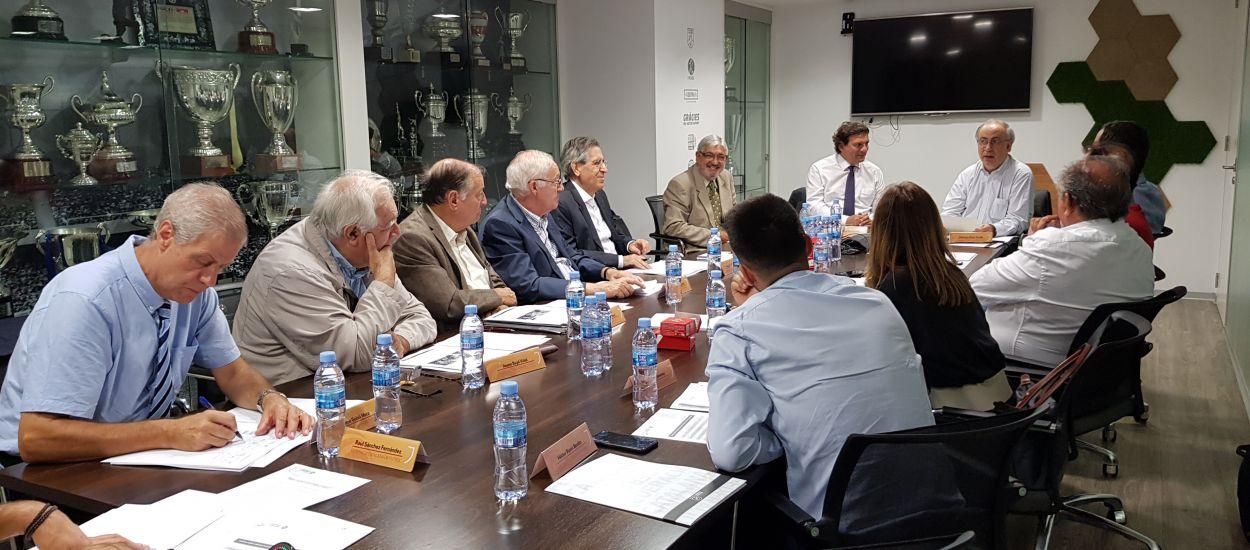 Primera reunió de la temporada de la Comissió d'Ètica Esportiva i Lluita contra la Violència