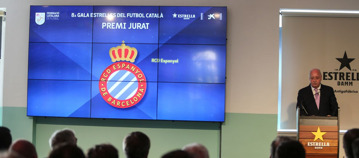 El RCD Espanyol i Alfons Álvarez Izquierdo, guanyadors del 'Premi Jurat'