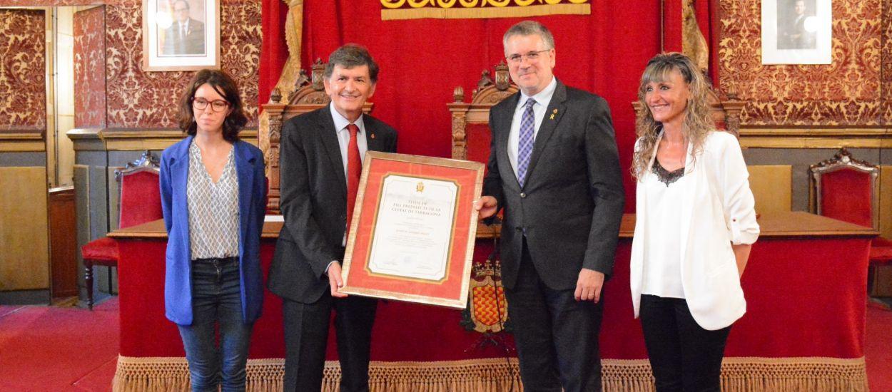 Josep Maria Andreu, nomenat fill predilecte de la ciutat de Tarragona