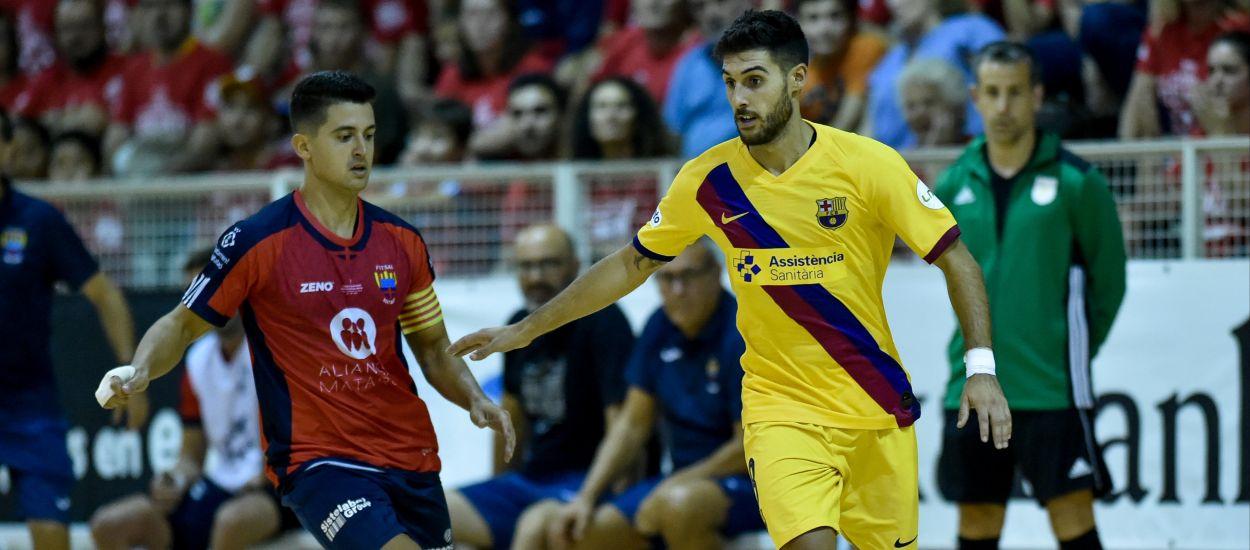 Dos jugadores catalanes de fútbol sala convocados con la selección española absoluta