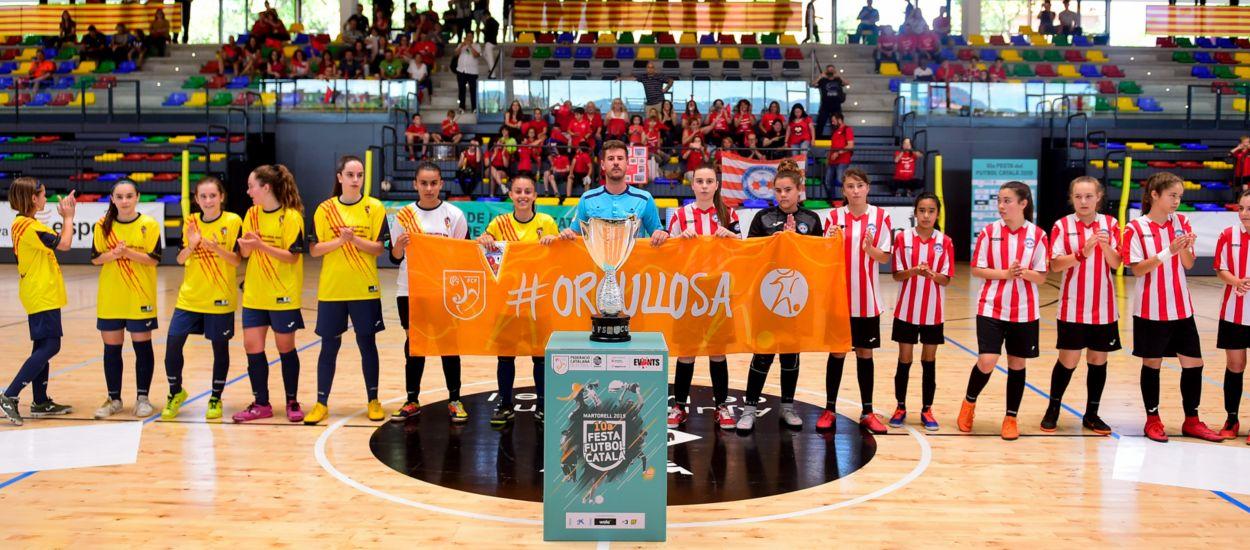 Última setmana per inscriure's a la Copa Catalunya de Futbol Sala