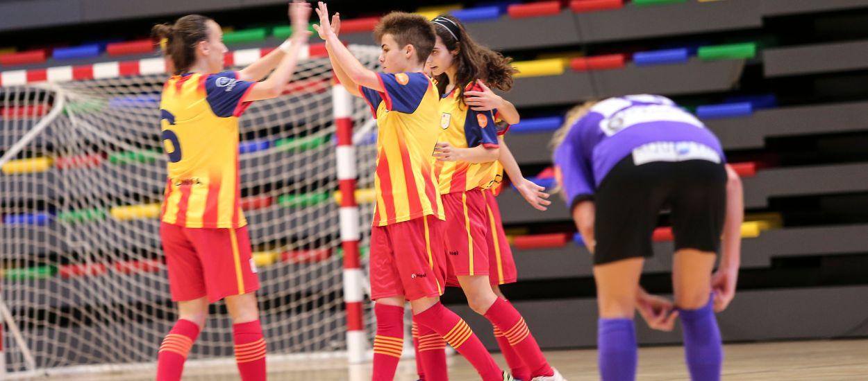 Primer test superado para la Selección Catalana sub 16 femenina