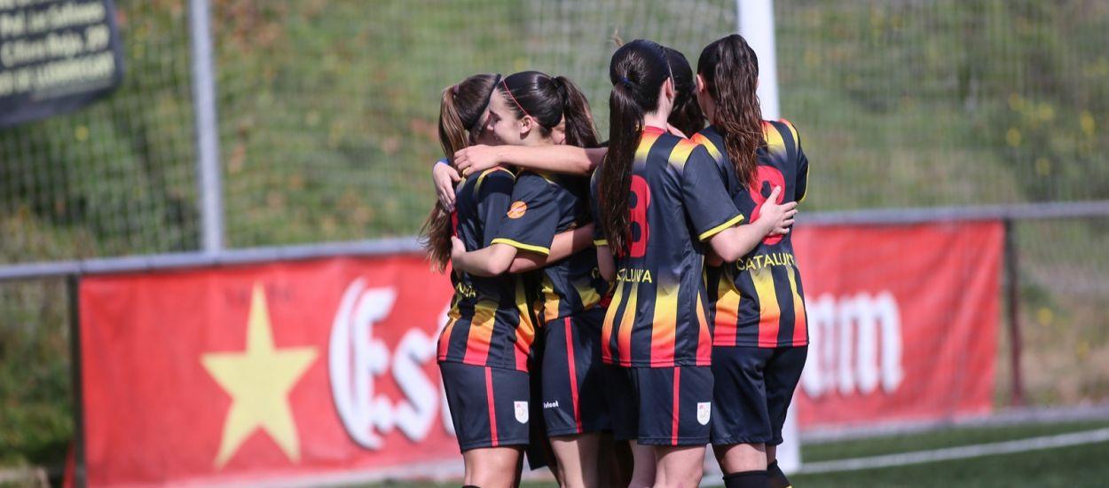 Cinc catalanes convocades amb la Selecció Espanyola sub 17 femenina